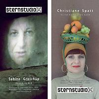 """Sabine Groschup & Christiane Spatt. """" - sternstudio"""